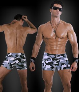 Falocco Collection Camouflage Trunk Swimwear 590