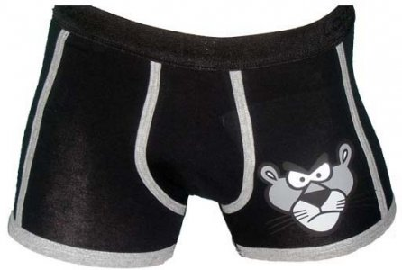 Lord Panther Boxer Brief Underwear Black 8199
