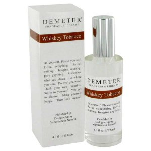 Demeter Whiskey Tobacco Cologne Spray 4 oz / 118.29 mL Men's...