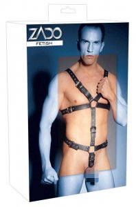 Zado Strap Body Leather Harness Black 2010259-1151