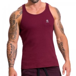 Jor TITAN Tank Top T Shirt Wine 0611
