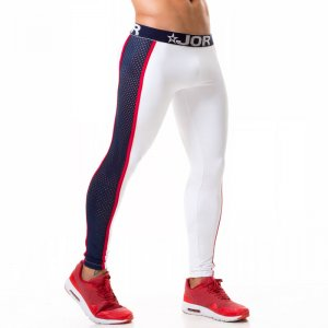 Jor Gladiator Athletic Pants White 0373