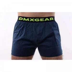 DMXGEAR Luxury Dark Night Tartan Loose Boxer Shorts Underwea...