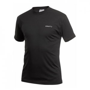 Craft Active Run Short Sleeved T Shirt Black 199205