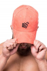 Jed North Snapback Hat Sunflare Orange HAT001