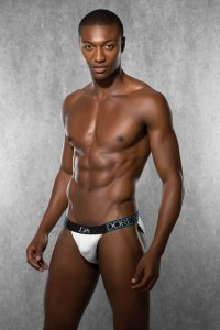 Doreanse Plain Tanga Slip Brief Underwear White 1233