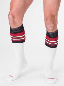 Barcode Berlin [3 Pack] Football Socks White/Black/Red 90143...