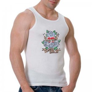 Good Boy Gone Bad Amazing Secret Inside Tank Top T Shirt Whi...