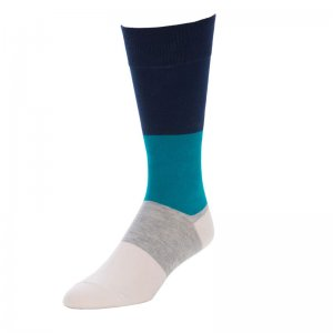 Strollegant CAPTAIN Crew Socks Blue
