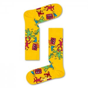 Happy Socks Keith Haring All Over Socks KEH01-2000-720
