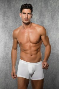 Doreanse Solid Boxer Brief Underwear White 1722