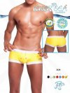 Icker Sea Contrast Trim Square Cut Trunk Swimwear 2224