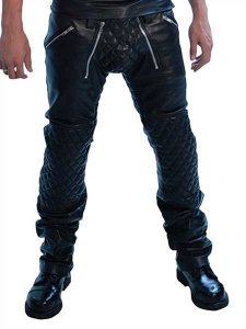 Mister B Leather Padded Sailor Jeans 111600
