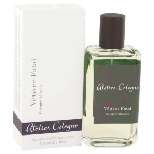 Atelier Cologne Vetiver Fatal Pure Perfume Spray 3.3 oz / 97.59 mL Men's Fragrance 518786