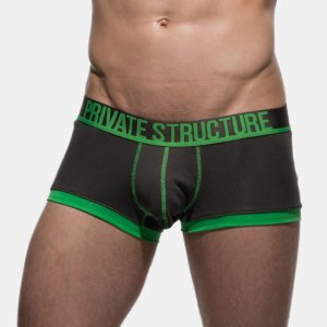 Private Structure Luminous Trunk Boxer Brief Underwear Green 99-MU-1879