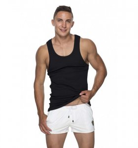 Marcuse Hyper Tank Top T Shirt Black