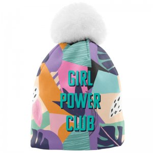 Mr. Gugu & Miss Go Our Club Unisex Pom-Pom Beanie WB1355