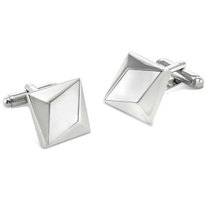 Duncan Walton Heartwood Cufflinks Mother Of Pearl C2718