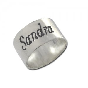 Personalized Men's Jewelry Personalized Name Ring 109-14-020-02
