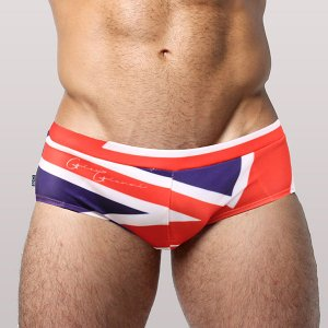 Gian Gianni British Square Cut Trunk Swimwear