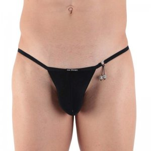 Kale Owen Majestic Pretty G String Underwear Black