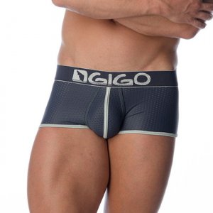 Gigo HOLLOW GREY Short Boxer Underwear G02096