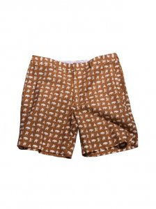 Breese Warriors Shorts Brown WARBR100