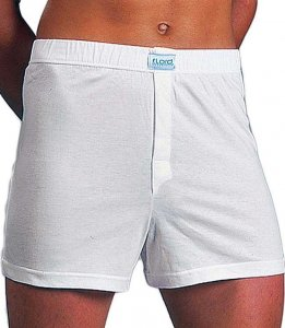 Lord Opening Loose Boxer Shorts Underwear White 1531