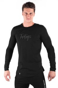 Twotags Verve Long Sleeved T Shirt Black