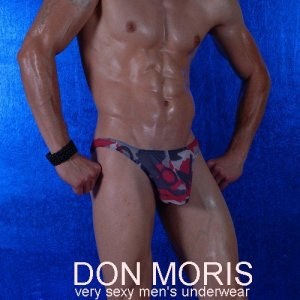 Don Moris Camouflage Thong Underwear DM080826