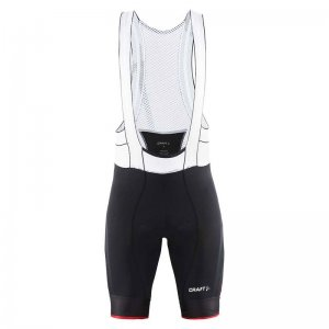 Craft Bike Tech EB Bibshort Bodysuit Black/Bright Red 1902587
