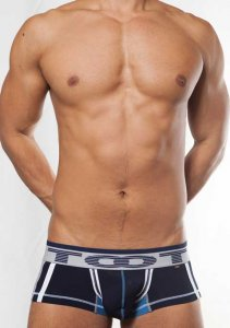 Toot Wide Logo Trunk Underwear Navy NB544329