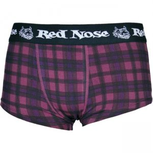 Red Nose Trunk Boxer Brief Underwear Bordeaux Wine 330-2