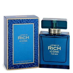 Johan B Rich Icone Eau De Toilette Spray 3.4 oz / 100.55 mL ...