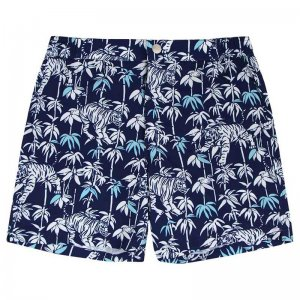 Mosmann Casper Tailored Shorts Swimwear Navy MSW0120