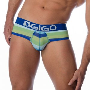 Gigo MARINE BLUE Brief Underwear G01003