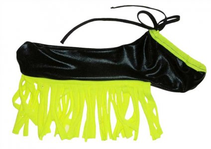RubberTreeLatex Custom Fringed Torpedo Pouch Underwear MFRINGETORP