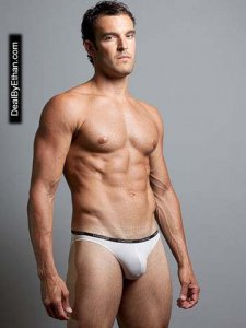 Doreanse Thin Waistband Slip Brief Underwear White 1395