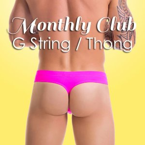Monthly Underwear Club G String / Thong MUC-GT