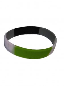 DBE Agender Silicone Armband