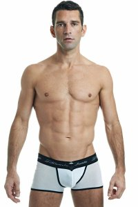 L'Homme Invisible FNF V Boxer Brief Underwear White MY19-FNF-002