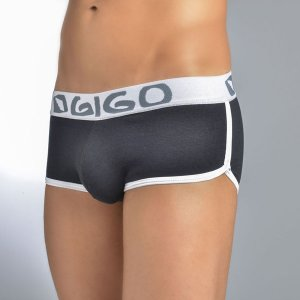 Gigo HOT BLACK Short Boxer Underwear