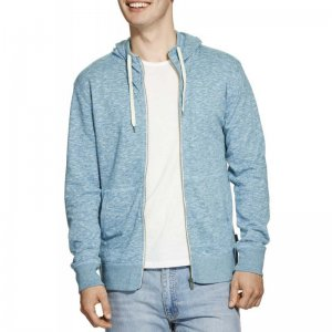 Bonds Textured Slim Hoodie Long Sleeved Sweater Petrol Blue AYYMI