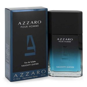 Azzaro Naughty Leather Eau De Toilette Spray 3.4 oz / 100.55...