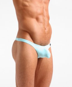 Cocksox Classic Thong Underwear Aqua Splash CX05