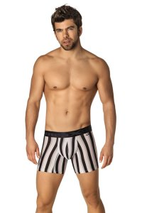 Xtremen Microfiber Boxer Brief Underwear Black 51329