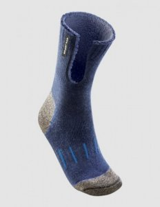 [6 Pack] Holeproof Explorer Extreme Copper Socks Navy SZSF1A