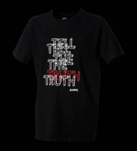 Cock&Balls Tell The Truth Short Sleeved T Shirt Black 10033