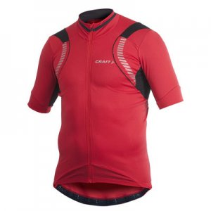 Craft Performance Bike Glo Short Sleeved T Shirt Bright Red 1901279
