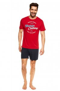Henderson Jones 36825-33X Pyjama Short Sleeved T Shirt & Sho...